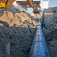 Excavating - Pipe, Valve, Fittings | Northwest Pipe Fittings